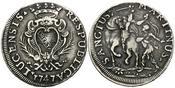 Scudo 1747, Italien/Lucca, Republik von 1369-1799, ss
