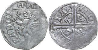 Sterling 1268 - 1294 Low Countries BRABANT HERTOGDOM Jan I van Brabant 1268 - 1294  1.24g. VanHoudt G163