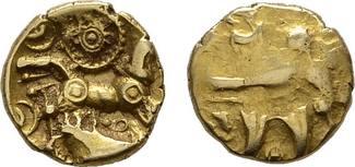 EL - Unit vor 25 v. Chr, BRITANNIA Dobunni Sehr schön +