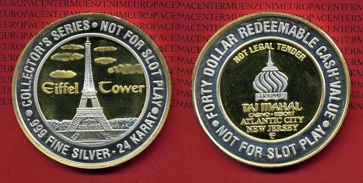 Collectors series claridge casino $10.00 silver coin redeemable las vegas south point casino movies