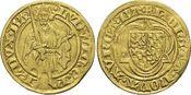 Gold-Gulden o.Jahr 1427 Pfalz-Kurlinie Ludwig III. 1410-1436. Selten, sehr schön - vorzüglich