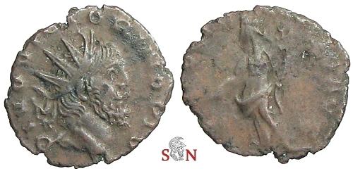Divus Victorinus Antoninianus - DIVO VICTORINO PIO