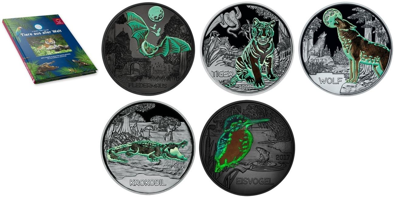 3 euro tiger münze österreich